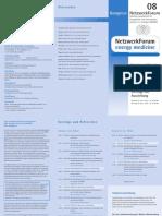 NetzwerkForm Programm 2008