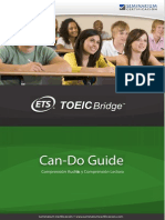 TOEIC-Bridge-Académico