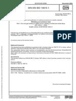 DIN en ISO 15614-1 Nov 2004 Englisch