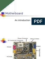 Motherboard Components... CSE