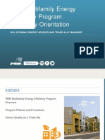 PNM Multifamily Energy Efficiency Program Trade Ally Orientation_08!05!2015