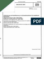 DIN en ISO 15607 Mrz 2004 Deutsch