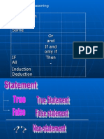 Mathematical Reasoning Form 4 Mathematics