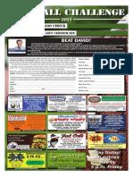 Football contest Sept. 3, 2015