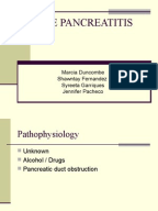 acute pancreatitis case study scribd Chapter 1—case studies in acute renal failure table 1causes of p re enal disease abdomen in acute pancreatitis or in muscle after a crush injury.