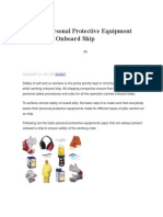 10 Main Personal Protective Equipment
