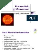 P627 S13 L24 22Apr2013 Zimmermann Photovoltaics