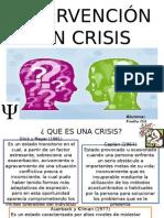 Intervencic3b3n en Crisis Psicoterapia