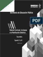 Material Curricular Español
