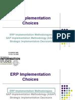 Presentation_1 ERP Implementation Choices