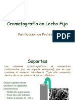 Cromatografia en Lecho Fijo