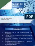 Ia-Investigacin-De-mercados-II. Fuente; MFC. LIC. OSCAR RIVERO Septiembre, 2009