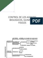 Control de Los Agentes Biologicos, Quimicos,