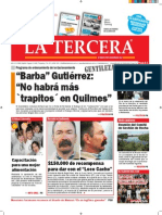 Diario La Tercera 04.09.2015