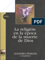 Pinkler Leandro - La Religion en La Epoca de La Muerte de Dios