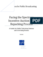 CPB White Paper on Spectrum Auction and Repacking Process