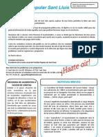 Boletín nº001 información Municipal Partido Popular Sant Lluís