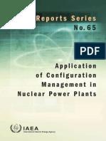 Application of Configuration Management