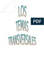 Los temas transversales