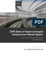 2015 State of Hyperconverged Infrastructure Market Report May 2015