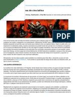 Dark Heresy Aventuras de Cine Bélico