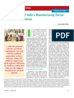 Labour Laws and India's Manufacturing Sector