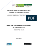 Manual Del Manejo Forestal Sustentable