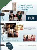 Investigación sobre El Conflicto Marital