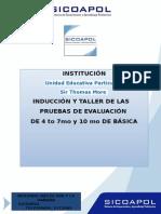 Carta Colegio Prueba de Gradoescuelas 4 7 y 10mo