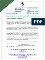 01- Company Profile