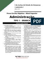 Nivel Superior Analista Judic i Administracao Tipo 01