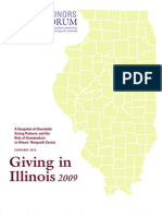 Giving in Illinois 2009