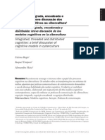 Cognição integrada, encadeada e distribuída
