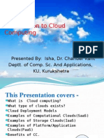 Presentation on Cloud Computing