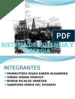 Sistema de Potencia y Energia