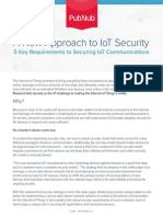 A New Approach to IoT Security