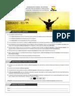 Caderno de Prova - e3-Pi