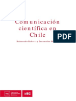 Comunicacion Cientifica en Chile Idec