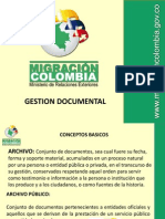 Capacitacion Gestion Documental