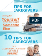 10 Tips for Caregivers With Edel Information