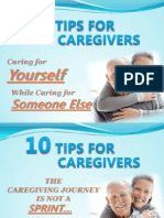 10 Tips for Caregivers