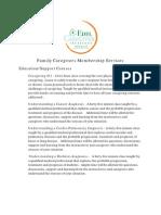 Edel Caregiver Institute Education/Support Courses