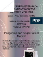 patient monitor mindray.ppt