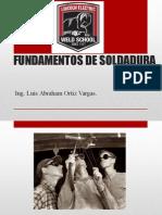 Fundamentos de Soldadura Unidad 1