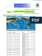 NOAA Pacific Tsunami Warning Center