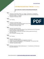 12 Wochen - Bauchmuskeltrainingsplan