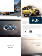 Catalogo Nuevo Ford Tourneo Connect