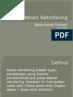 Abses Retrofaring