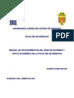Manual de Org_Area de Sistemas_Fader1