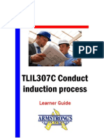 TLIL307C - Conduct Induction Process - Learner Guide